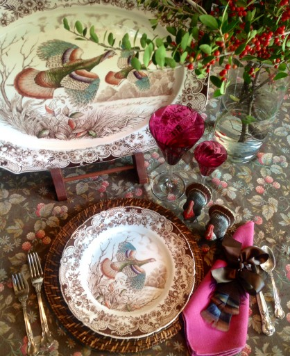 Heritage-Game-Mounts-Turkey-Table-Setting