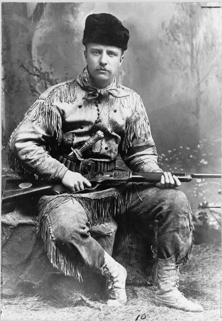Teddy Roosevelt and other big game hunters began to commission Victorian taxidermists to preserve their trophies artfully