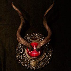 Tartan Kudu by Heritage Game Mounts