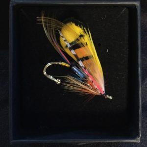 The Shannon Classic Salmon Fly Lapel Pin