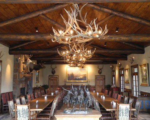 magnificent artwork surrounds your soul at Trinchera Ranch and the superb food & service feed your soul!
