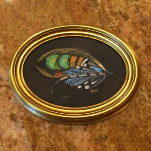 Lang Syne classic salmon fly painting