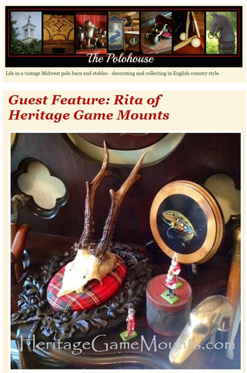 Polohouse Blogspot - Heritage Game Mounts
